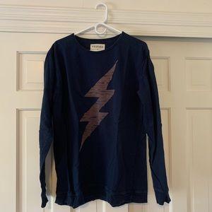 Vestige Lightning Bolt Crewneck